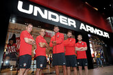 Gallery: Saints visit Under Armour Store