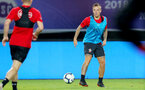 SHANGHAI, CHINA - JULY 09: Jordy Clasie during a Southampton FC training session, while on their pre season tour of China, on July 6, 2018 in Xuzhou, China. (Photo by Matt Watson/Southampton FC via Getty Images)