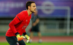 SHANGHAI, CHINA - JULY 09: Alex McCarthy during a Southampton FC training session, while on their pre season tour of China, on July 6, 2018 in Xuzhou, China. (Photo by Matt Watson/Southampton FC via Getty Images)