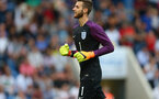 COLCHESTER, ENGLAND - SEPTEMBER 06: Angus Gunn of England U21 during the UEFA European U21 Championship Qualifier Group 9 match between England U21 and Norway U21 at Colchester Community Stadium on September 6, 2016 in Colchester, England. (Photo by Catherine Ivill - AMA/Getty Images)