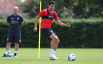 SOUTHAMPTON, ENGLAND - JULY 16: Mohamed Elyounoussi during a Southampton FC training session at the Staplewood Campus on July 16, 2018 in Southampton, England. (Photo by Matt Watson/Southampton FC via Getty Images)