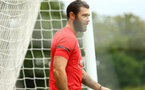 SOUTHAMPTON, ENGLAND - JULY 17: Charlie Austin during a Southampton FC training session at Staplewood Complex on July 17, 2018 in Southampton, England. (Photo by James Bridle - Southampton FC/Southampton FC via Getty Images)