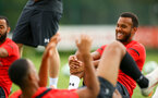 SOUTHAMPTON, ENGLAND - JULY 18: Ryan Bertrand during a Southampton FC training session at Staplewood Complex on July 18, 2018 in Southampton, England. (Photo by James Bridle - Southampton FC/Southampton FC via Getty Images)