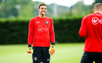 SOUTHAMPTON, ENGLAND - JULY 18: Alex McCarthy during a Southampton FC training session at Staplewood Complex on July 18, 2018 in Southampton, England. (Photo by James Bridle - Southampton FC/Southampton FC via Getty Images)