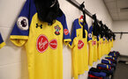 DERBY, ENGLAND - JULY 21: Inside the dressing room of Southampton ahead of the pre-season friendly match between Derby County and Southampton at Pride Park on July 21, 2018 in Derby, England. (Photo by Matt Watson/Southampton FC via Getty Images)
