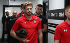 DERBY, ENGLAND - JULY 21: Stuart Armstrong of Southampton ahead of the pre-season friendly match between Derby County and Southampton at Pride Park on July 21, 2018 in Derby, England. (Photo by Matt Watson/Southampton FC via Getty Images)