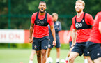 SOUTHAMPTON, ENGLAND - JULY 30: Ryan Bertrand  during a Southampton FC training sessions at Staplewood Complex on July 30, 2018 in Southampton, England. (Photo by James Bridle - Southampton FC/Southampton FC via Getty Images)