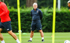SOUTHAMPTON, ENGLAND - JULY 30: Mark Hughes during a Southampton FC training sessions at Staplewood Complex on July 30, 2018 in Southampton, England. (Photo by James Bridle - Southampton FC/Southampton FC via Getty Images)
