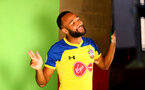 SOUTHAMPTON, ENGLAND - JULY 31: Nathan Redmond during a BTS view at a Southampton FC Photoshoot at St Mary's Stadium on July 31, 2018 in Southampton, England. (Photo by James Bridle - Southampton FC/Southampton FC via Getty Images)
