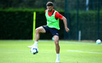 SOUTHAMPTON, ENGLAND - AUGUST 03: Shane Long during a Southampton FC training session at Staplewood Complex on August 3, 2018 in Southampton, England. (Photo by James Bridle - Southampton FC/Southampton FC via Getty Images)