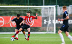 SOUTHAMPTON, ENGLAND - AUGUST 10: Callum Slattery (Middle) during the PL2 match between Southampton FC vs Middlesbrough FC pictured at Staplewood Complex on August 10, 2018 in Southampton, England. (Photo by James Bridle - Southampton FC/Southampton FC via Getty Images)