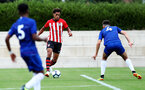 Christian Norton during an U18 match between Southampton FC and Chelsea, at the Staplewood Campus, Southampton, 11th August 2018