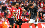 SOUTHAMPTON, ENGLAND - AUGUST 12: Nathan Redmond (middle) during the Premier League match between Southampton FC and Burnley FC at St Mary's Stadium on August 12, 2018 in Southampton, United Kingdom. (Photo by James Bridle - Southampton FC/Southampton FC via Getty Images)