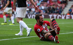 SOUTHAMPTON, ENGLAND - AUGUST 12: Danny Ings of Southampton during the Premier League match between Southampton FC and Burnley FC at St Mary's Stadium on August 12, 2018 in Southampton, United Kingdom. (Photo by Chris Moorhouse/Southampton FC via Getty Images)