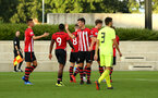 SOUTHAMPTON, ENGLAND - AUGUST 14: Sam Gallagher scores and players celebrate during the U23 International Cup match between Southampton FC vs Dinamo Zagreb pictured at Staplewood Complex on August 14, 2018 in Southampton, England. (Photo by James Bridle - Southampton FC/Southampton FC via Getty Images)