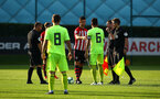 SOUTHAMPTON, ENGLAND - AUGUST 14: Southampton FC about to Kick off for the U23 International Cup match between Southampton FC vs Dinamo Zagreb pictured at Staplewood Complex on August 14, 2018 in Southampton, England. (Photo by James Bridle - Southampton FC/Southampton FC via Getty Images)