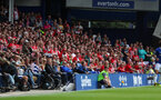 LIVERPOOL, ENGLAND - AUGUST 18: fans of Southampton during the Premier League match between Everton FC and Southampton FC at Goodison Park on August 18, 2018 in Liverpool, United Kingdom. (Photo by Matt Watson/Southampton FC via Getty Images)