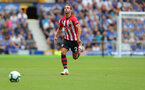 LIVERPOOL, ENGLAND - AUGUST 18: Cedric of Southampton during the Premier League match between Everton FC and Southampton FC at Goodison Park on August 18, 2018 in Liverpool, United Kingdom. (Photo by Matt Watson/Southampton FC via Getty Images)