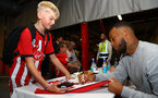 Ryan Bertrand during a Southampton FC signing session at St Marys Stadium, Southampton, 20th August 2018