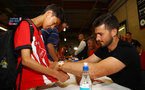 Shane Long during a Southampton FC signing session at St Marys Stadium, Southampton, 20th August 2018