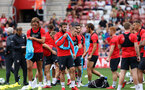 Southampton FC team photo and open training session at St Mary's Stadium, Southampton                                Picture: Chris Moorhouse               Monday 20th August 2018             FOR EDITORIAL USE ONLY