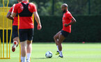 SOUTHAMPTON, ENGLAND - AUGUST 23: Nathan Redmond during a Southampton FC training session at the Staplewood Campus on August 23, 2018 in Southampton, England. (Photo by Matt Watson/Southampton FC via Getty Images)