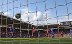 SOUTHAMPTON, ENGLAND - AUGUST 25: players of Southampton react as Ryan Bertrand's shot finds the net during the Premier League match between Southampton FC and Leicester City at St Mary's Stadium on August 25, 2018 in Southampton, United Kingdom. (Photo by Matt Watson/Southampton FC via Getty Images)