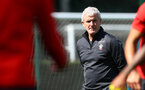 SOUTHAMPTON, ENGLAND - AUGUST 30: Mark Hughes during a Southampton FC training session at Staplewood the Campus on August 30, 2018 in Southampton, England. (Photo by Matt Watson/Southampton FC via Getty Images)
