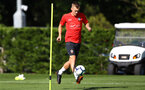 James Ward-Prowse during a Southampton FC training session, at the Staplewood Campus, Southampton, 6th September 2018
