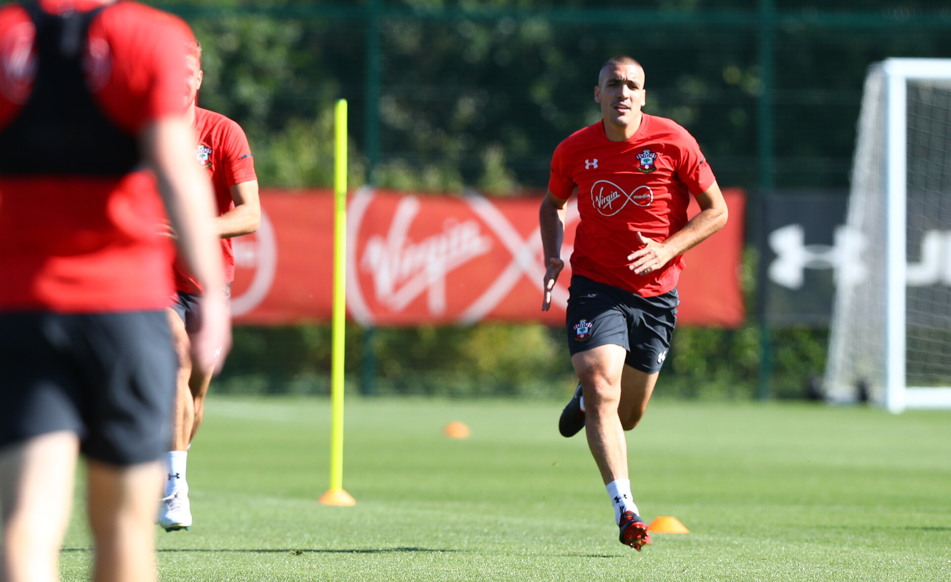 SOUTHAMPTON, ENGLAND - SEPTEMBER 13: Oriol Romeu during a Southampton FC training session at the Staplewood Campus on September 13, 2018 in Southampton, England. (Photo by Matt Watson/Southampton FC via Getty Images)
