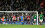 SOUTHAMPTON, ENGLAND - SEPTEMBER 17TH: Southampton concede during the Premier League match between Southampton FC and Brighton & Hove Albion at St Mary's Stadium on September 17, 2018 in Southampton, United Kingdom. (Photo by Chris Moorhouse/Southampton FC via Getty Images)