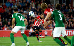 SOUTHAMPTON, ENGLAND - SEPTEMBER 17: Ryan Bertrand (middle) during the Premier League match between Southampton FC and Brighton & Hove Albion at St Mary's Stadium on September 17, 2018 in Southampton, United Kingdom. (Photo by James Bridle - Southampton FC/Southampton FC via Getty Images)