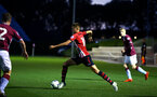 SOUTHAMPTON, ENGLAND - SEPTEMBER 21: Will Smallbone (middle) during the PL2 match between Southampton FC and Aston Villa FC at Staplewood Training Ground on September 21, 2018 in Southampton, United Kingdom. (Photo by James Bridle - Southampton FC/Southampton FC via Getty Images)