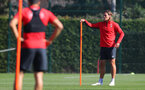 SOUTHAMPTON, ENGLAND - SEPTEMBER 27: Jannik Vestergaard during a Southampton FC training session at the Staplewood Campus on September 27, 2018 in Southampton, England. (Photo by Matt Watson/Southampton FC via Getty Images)