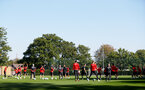 SOUTHAMPTON, ENGLAND - SEPTEMBER 27: general view during a Southampton FC training session at the Staplewood Campus on September 27, 2018 in Southampton, England. (Photo by Matt Watson/Southampton FC via Getty Images)