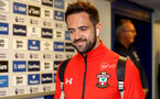 LIVERPOOL, ENGLAND - OCTOBER 02: Danny Ings of Southampton ahead of the Carabao Cup Third Round match between Everton and Southampton at Goodison Park on October 2nd, 2018 in Liverpool, England. (Photo by Matt Watson/Southampton FC via Getty Images)