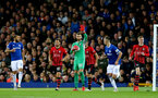 LIVERPOOL, ENGLAND - OCTOBER 02: Angus Gunn of Southampton during the Carabao Cup Third Round match between Everton and Southampton at Goodison Park on October 2nd, 2018 in Liverpool, England. (Photo by Matt Watson/Southampton FC via Getty Images)