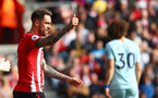 SOUTHAMPTON, ENGLAND - OCTOBER 07: Danny Ings of Southampton during the Premier League match between Southampton FC and Chelsea FC at St Mary's Stadium on October 7, 2018 in Southampton, United Kingdom. (Photo by Matt Watson/Southampton FC via Getty Images)