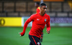0CAMBRIDGE, ENGLAND - OCTOBER 09: Yan Valery ahead of the U21s Checkatade Trophy between Cambridge United and Southampton FC pictured at Abbey Stadium on October 9, 2018 in Cambridge, England. (Photo by James Bridle - Southampton FC/Southampton FC via Getty Images)