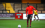 CAMBRIDGE, ENGLAND - OCTOBER 09: Alan Tchaptchet ahead of the U21s Checkatade Trophy between Cambridge United and Southampton FC pictured at Abbey Stadium on October 9, 2018 in Cambridge, England. (Photo by James Bridle - Southampton FC/Southampton FC via Getty Images)