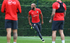 SOUTHAMPTON, ENGLAND - OCTOBER 11: Nathan Redmond during a Southampton FC training session at the Staplewood Campus on October 11, 2018 in Southampton, England. (Photo by Matt Watson/Southampton FC via Getty Images)