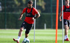 SOUTHAMPTON, ENGLAND - OCTOBER 18: Charlie Austin during a Southampton FC training session at the Staplewood Campus on October 18, 2018 in Southampton, England. (Photo by Matt Watson/Southampton FC via Getty Images)