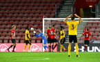SOUTHAMPTON, ENGLAND - OCTOBER 19: Jack Rose save during the PL2 match between Southampton FC and Wolves pictured at St Mary's Stadium on October 19, 2018 in Southampton, England. (Photo by James Bridle - Southampton FC/Southampton FC via Getty Images)
