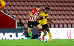 SOUTHAMPTON, ENGLAND - OCTOBER 19: Sam Gallagher (middle) during the PL2 match between Southampton FC and Wolves pictured at St Mary's Stadium on October 19, 2018 in Southampton, England. (Photo by James Bridle - Southampton FC/Southampton FC via Getty Images)