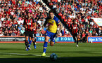 BOURNEMOUTH, ENGLAND - OCTOBER 20: Danny Ings of Southampton during the Premier League match between AFC Bournemouth and Southampton FC at Vitality Stadium on October 20, 2018 in Bournemouth, United Kingdom. (Photo by Matt Watson/Southampton FC via Getty Images)
