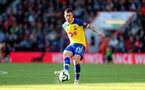 BOURNEMOUTH, ENGLAND - OCTOBER 20: Pierre-Emile Hojbjerg of Southampton during the Premier League match between AFC Bournemouth and Southampton FC at Vitality Stadium on October 20, 2018 in Bournemouth, United Kingdom. (Photo by Matt Watson/Southampton FC via Getty Images)