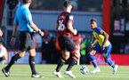 BOURNEMOUTH, ENGLAND - OCTOBER 20: Mario Lemina of Southampton during the Premier League match between AFC Bournemouth and Southampton FC at Vitality Stadium on October 20, 2018 in Bournemouth, United Kingdom. (Photo by Matt Watson/Southampton FC via Getty Images)