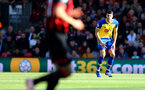 BOURNEMOUTH, ENGLAND - OCTOBER 20: Wesley Hoedt of Southampton during the Premier League match between AFC Bournemouth and Southampton FC at Vitality Stadium on October 20, 2018 in Bournemouth, United Kingdom. (Photo by Matt Watson/Southampton FC via Getty Images)