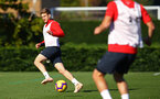 SOUTHAMPTON, ENGLAND - OCTOBER 22: Stuart Armstrong during a Southampton FC training session at Staplewood Complex on October 22, 2018 in Southampton, England. (Photo by James Bridle - Southampton FC/Southampton FC via Getty Images)