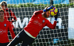 SOUTHAMPTON, ENGLAND - OCTOBER 22: Angus Gunn during a Southampton FC training session at Staplewood Complex on October 22, 2018 in Southampton, England. (Photo by James Bridle - Southampton FC/Southampton FC via Getty Images)